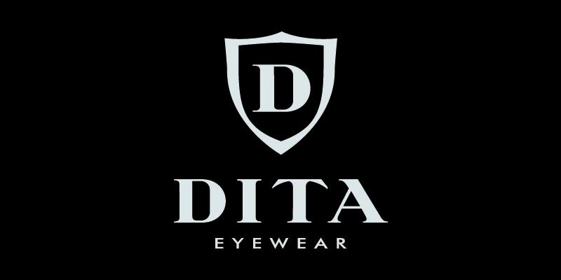 Logo Dita brillen en zonnebrillen