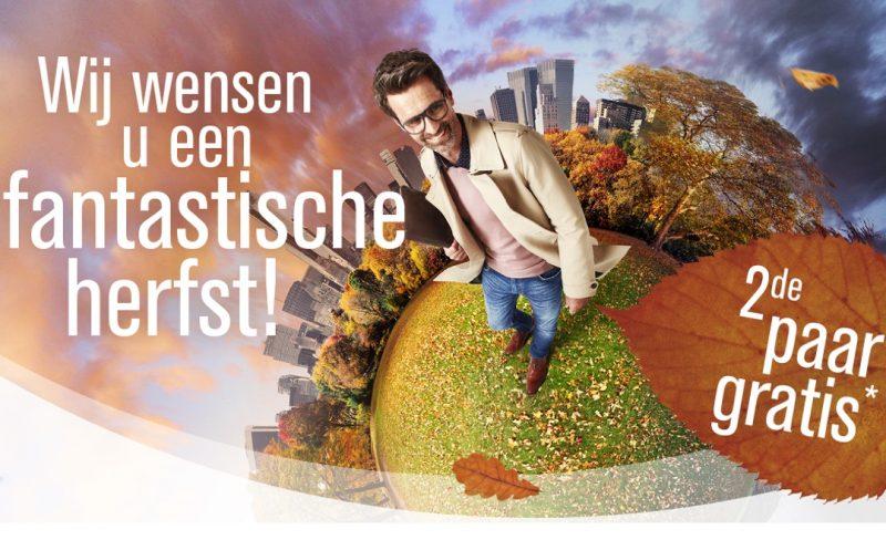 Herfstcampagne 2de paar glazen gratis